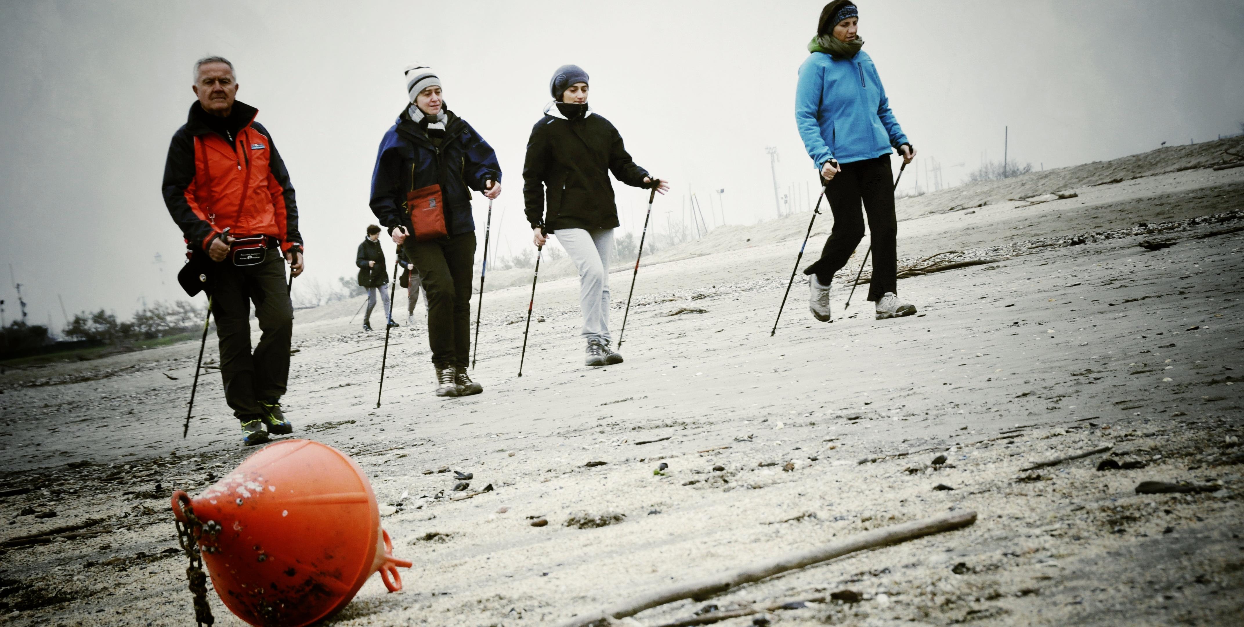 Nordic Walking al Mare d'Inverno